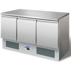 Blizzard BCC3-ECO: 3 Door Refrigerated Compact Gastronorm Counter