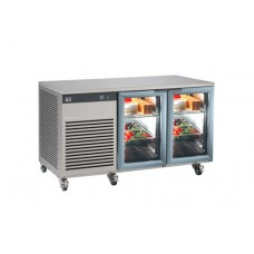 FOSTER EP1/2G: EcoPro G2 1-2 Refrigerated Counter Glass Doors (280 litre capacity)