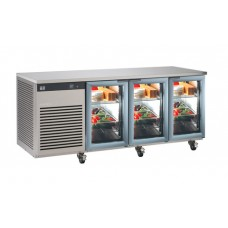 FOSTER EP1/3G: EcoPro G2 1-3 Refrigerated Counter Glass Doors (435 litre capacity)