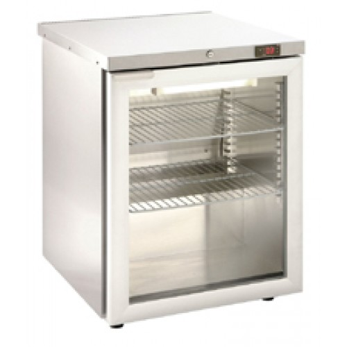 Foster Hr150g Undercounter Refrigerator With Glass Door