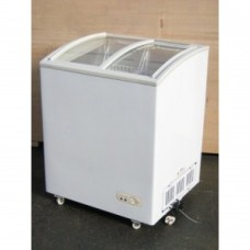 Coolpoint CX601: 0.7mt Curved glass lid chest freezer ideal for ice cream
