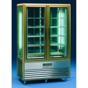 Tecfrigo Continental 700 Q: 700Ltr Continental Chilled Patisserie Display with Wire Shelves
