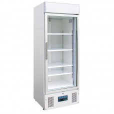 Polar GH506: Display Freezer with Light Box 412Ltr