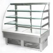 Igloo Jamaica JA130N: 1.31m Ambient Stainless Steel Pastry case