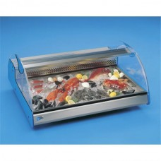 Tecfrigo Azzurra 2: Countertop Serve Over for Fresh Fish or Fresh Meat