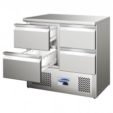 Blizzard BCC2-4D: Compact Refrigerated Counter With Drawers