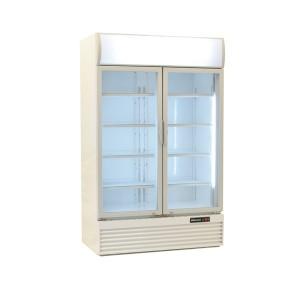 Blizzard GD1000: Hinged glass door fridge