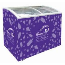 Coolpoint CX620c: Curved glass lid chest freezer Ideal for ice cream