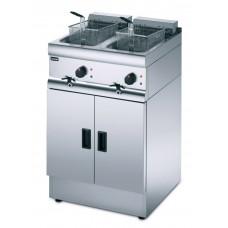 Lincat J18 E439: Lincat Silverlink 600 Free Standing Double Electric Fryer