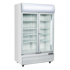 Blizzard GD1000: Hinged Glass Door Fridge