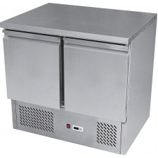 Ice-A-Cool ICE3801: 240 Litre 2 Door Refrigerated Preparation Bench in stainless steel