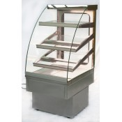 Igloo Jamaica JA60W: 0.6m Refrigerated Stainless Steel Pastry Case