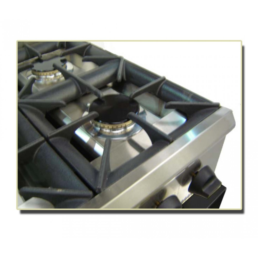 how to clean oven burners naturally