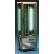 Tecfrigo Continental 350 R: Continental Chilled Patisserie Display - rotating glass shelves