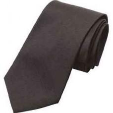 Code A585: Black polycotton tie.