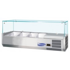 Blizzard TOP1200CR 3 X 1 2 GN Refrigerated Counter Top
