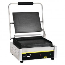 Buffalo GJ455: Large Single Contact Grill - Smooth Plates