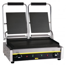 Buffalo GJ456: Double Contact Grill - Smooth Plates