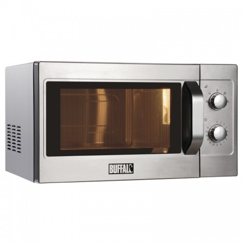 Buffalo GK643: 1100W Manual Commercial Microwave Oven