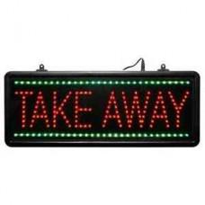 Code CD972: TAKE AWAY LED Display Sign