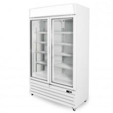 Capital Cooling Pegasus PE2D: Double Glass Door Display Freezer - 730Ltr