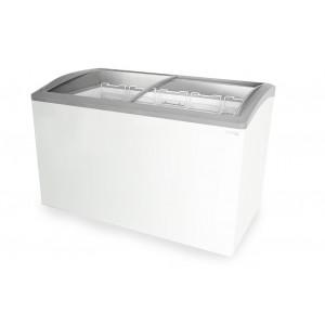 Capital Cooling Talisman 2 MK3: 1.24m Sliding Glass Lid Commercial Chest Freezer - 300Ltr