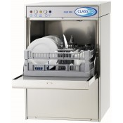 Classeq DUO400: 400mm Commercial Dishwasher with Drain Pump, Air Gap & Rinse Pump