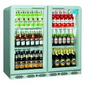 Coolpoint CX200: 192 Litre Double Hinged Door Beer Fridge - Silver Grey - Special Offer Price