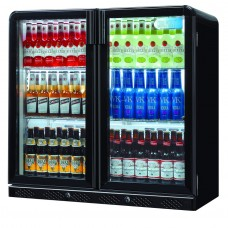 Coolpoint CX201: 192 Litre Double Hinged Door Beer Fridge - Black - Special Offer Price
