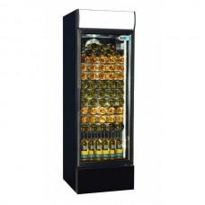 Coolpoint CX407: Glass Door Wine Chiller in Black Finish