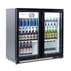 Artikcold ALASKA BBC-92H: 180 Bottle Capacity Pub Beer Fridge - Hinged doors