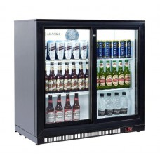 Artikcold ALASKA BBC-92S: 180 Bottle Capacity Pub Beer Fridge - Sliding doors