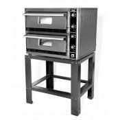 "Super Pizza PO5050DE: Double Electric Pizza Oven - 8 x 9"" Pizzas"