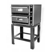 "Super Pizza PO10268DE: Double Electric Pizza Oven - 12 x 13"" Pizzas"