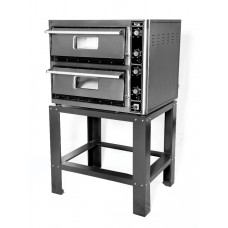 "Super Pizza PO10268DE: Double Electric Pizza Oven - 12 x 13"" Pizzas"