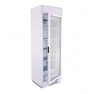 Artikcold UF382G: 382Ltr Glass Door Freezer - Fixed Shelves