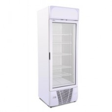 Artikcold UF470G: 470Ltr Glass Door Freezer - Fixed Shelves