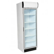 Artikcold VIZ372C: Glass Door Display Chiller with light canopy