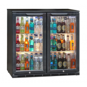 Blizzard BAR2: Double Door Back Bar Beer Chiller - ECA Approved