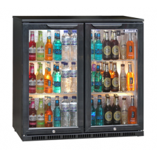 Blizzard BAR2: Double Door Back Bar Beer Chiller - ECA Approved