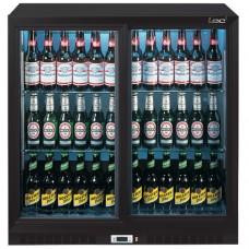 LEC BC9027K LOW-ENERGY Back Bar Cooler - Sliding Doors