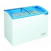 Coolpoint CX641: Impulse Plain White Sloping Lid Freezer