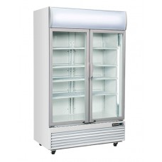 BLIZZARD GDF1000H: Double Door Display Freezer