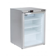 Blizzard UCR140CR: Glass Door Under Counter Refrigerator