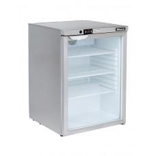 Blizzard UCR140CR: Glass Door Under Counter Refrigerator