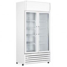 Capital Cooling Vesta 800 MK2: Hinged Glass Door Display Fridge - 805Ltr