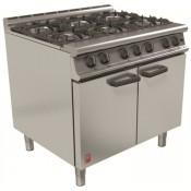 Falcon Dominator / Dominator Plus G3101: 6 Burner Natural Gas Oven