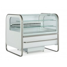 ES System K Catania CAT/187PA: 1.98m Fan Assisted Spherical Glass Patisserie Display Counter