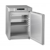 Gram COMPACT F 210 RG 3N: Slim Undercounter Freezer - Stainless Steel