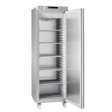 Gram COMPACT F 410 RG C 6N: Slim Upright Freezer - Stainless Steel
